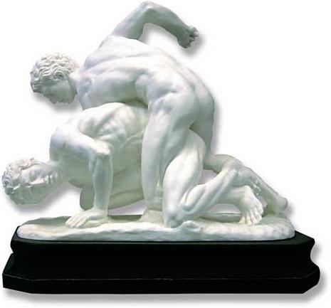 Wrestlers : Italian Import - Italian Marble - Photo Museum Store Company