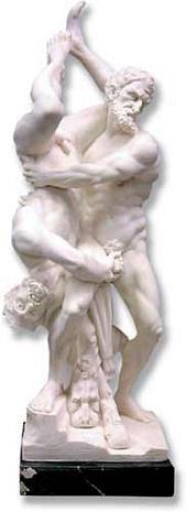 Hercules & Diomedes : Italian Import - Italian Marble - Photo Museum Store Company