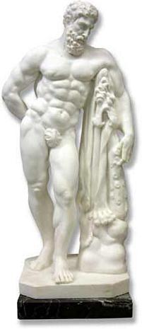Hercules Farnese : Italian Import - Italian Marble - Photo Museum Store Company
