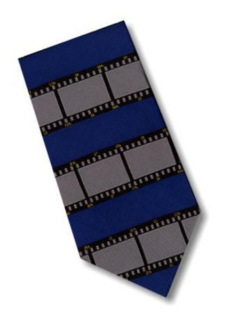 Museum Designs Film Necktie : Ties, Neckware & Historic Appearal - Photo Museum Store Company