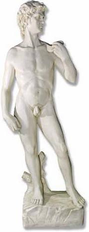 Michelangelo's David (Life Sized Sculpture) : Florence, Galleria dell'Accademia, 1504 - Photo Museum Store Company