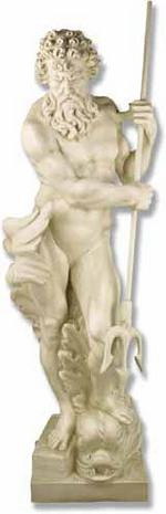 Neptune - Life-Sized & Large Format Sculptures - Photo Museum Store Company