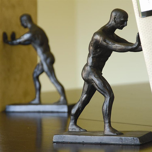 Greek Man Bookends - Pair - Photo Museum Store Company