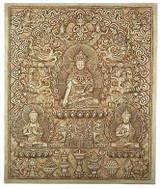 Tibetan Buddha Relief - Photo Museum Store Company