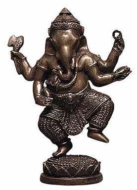 Small Dancing Ganesh - Photo Museum Store Company