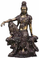 Royal Ease Kuan-Yin :  Nelson-Atkins Museum of Art, Kansas City 11th-12th Century - Photo Museum Store Company