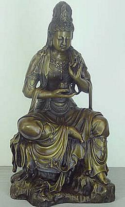 Seated Kuan-Yin - Photo Museum Store Company