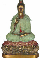 Kuan-Yin with lotus - Photo Museum Store Company
