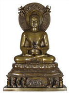 Large Indian Buddha - Photo Museum Store Company