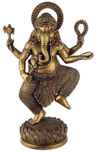 Large dancing Ganesh - Photo Museum Store Company