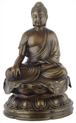 Buddha, Earth touching pose - Photo Museum Store Company