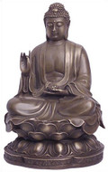Seated Buddha, teaching pose - Photo Museum Store Company