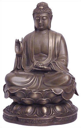Seated Buddha, teaching pose - Photo Museum Store Company