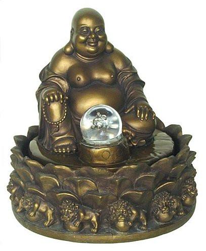 Happy Buddha fountain - Photo Museum Store Company