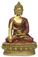 "12""  Buddha in Earth touching pose - Photo Museum Store Company"