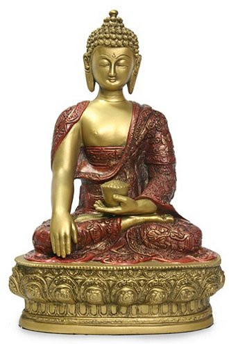"""12""""  Buddha in Earth touching pose - Photo Museum Store Company"""