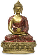 "12""  Buddha in meditation - Photo Museum Store Company"