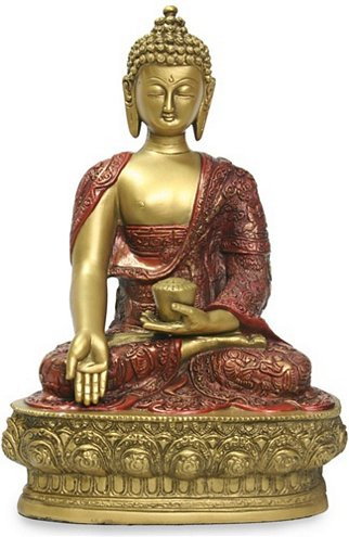 """12""""  Buddha in wish giving pose - Photo Museum Store Company"""