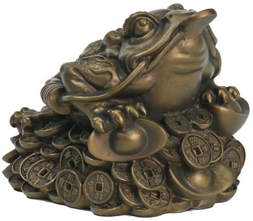 Medium frog (feng shui item) - Photo Museum Store Company