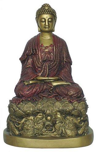 Buddha on a dragon base - Photo Museum Store Company