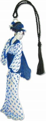 Walking Geisha Bookmark - Photo Museum Store Company