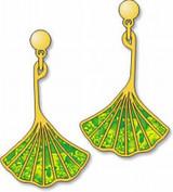 Ginkgo Leaf Earrings - Photo Museum Store Company