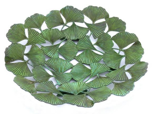 Ginkgo Leaf Plate Large - Photo Museum Store Company