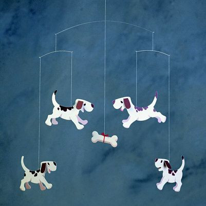 Doggy Dreams - Puppy and Dogs Mobile, Denmark - Photo Museum Store Company