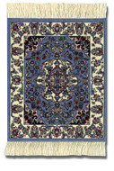 Jaipur Contemporary: Blue Group - Coaster Rug Set - Photo Museum Store Company
