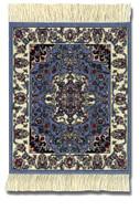 Jaipur Contemporary: Blue Group - Coaster Rug Set - Photo Museum Store Company