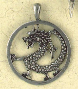 "Chinese Dragon Pendant : ""Siddharta"" - The Buddhist Collection - Photo Museum Store Company"