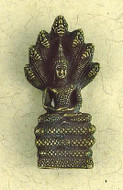 Snakes Buddha Small Figurine : Hindu & Buddhist Figurines - Photo Museum Store Company