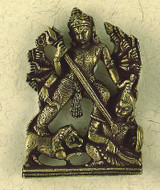 Durga Small Figurine : Hindu & Buddhist Figurines - Photo Museum Store Company