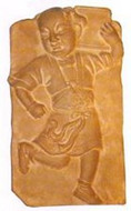Entertainers Yuan Dynasty (1279-1368)  - Genghis Khana rule - He - Photo Museum Store Company