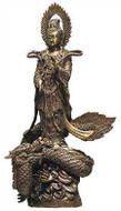 Kuan-Yin Standing on a Dragon - Photo Museum Store Company