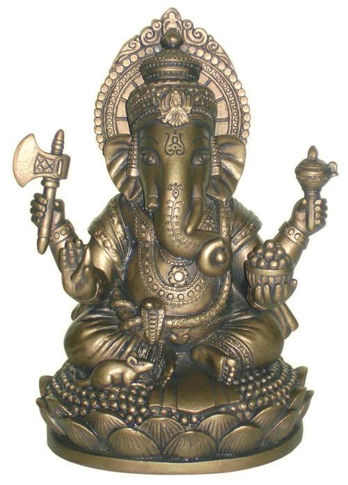 Bronze Seated Ganesh - Photo Museum Store Company
