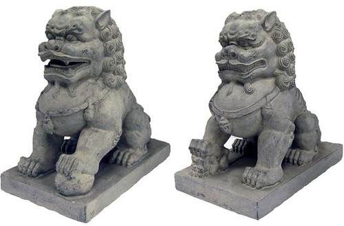 Large set of Foo dogs - Photo Museum Store Company