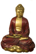 Buddha in Mediation on Lotus - Museum Store Company Photo