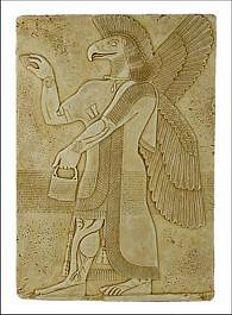 Eagle Spirit - Palace of Assurnasirpal II Nimrud, Assyria ca 875-860 B.C. - Photo Museum Store Company