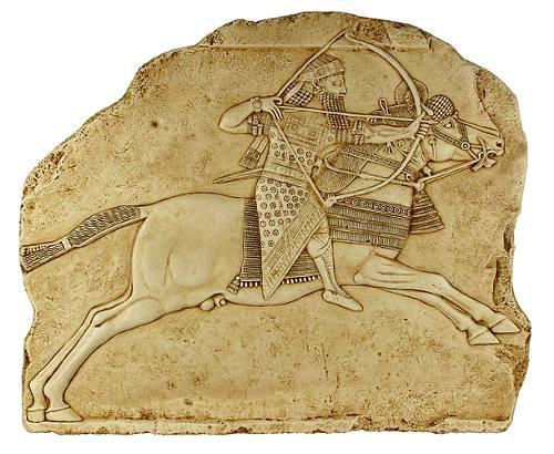 Ashurbanipal Hunting : Ashurbanipal Palace, Nineveh, 645 B.C. - Photo Museum Store Company