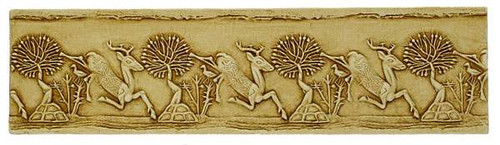 Leaping Stags Relief (Horses) - Pierpoint Morgan Library, New York, 1250 B.C. - Photo Museum Store Company