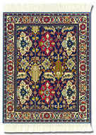 Colonial Williamsburg Foundation: Kuba Oriental Miniature Rug & Mouse Pad - Photo Museum Store Company