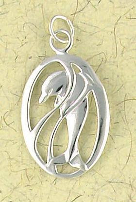 Dolphin Pendant Pendant on Cord : Nature, Wildlife and Marine Animal Collection - Photo Museum Store Company