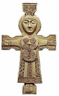 Celtic Crucifix of Athlone - County Roscommon, Ireland, 800AD - Photo Museum Store Company