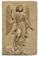 Archangel Raphael - L.A. County Museum of Art, Los Angeles. 1600 A.D. - Photo Museum Store Company