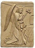 Archangel Gabriel - Ghent Cathedral, Belgium. 1432 A.D. - Photo Museum Store Company