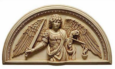 Archangel Michael - New York Metropolitan Museum of Art 1475 A.D - Photo Museum Store Company