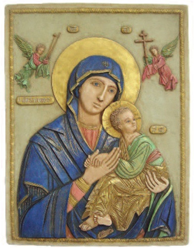 Our Lady of Perpetual Help Virgin Mary Madonna - Photo Museum Store Company