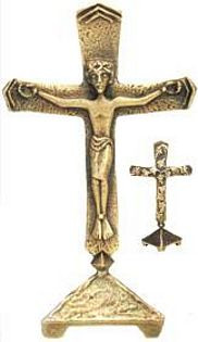 Double - Sided Standing Cross - Photo Museum Store Company