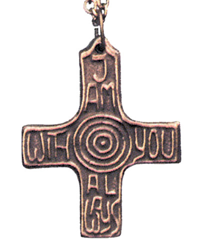 Pendant of Promise 'I am with you always' - Photo Museum Store Company
